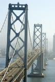 Bridge to San Francisco. Oakland Bridge, San Francisco, California royalty free stock photos