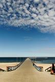Bridge to the sea. Stock Photography