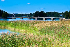 Bridge to Seurasaari Royalty Free Stock Photos