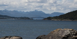 The Bridge to Skye Royalty Free Stock Photography