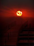 Bridge to the Sun Stock Images