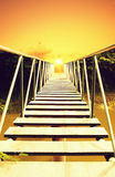 Bridge to the sun Stock Photography