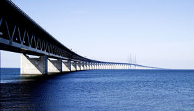Bridge to Sweden Royalty Free Stock Image
