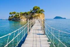 Free Bridge To The Small Island Cameo, Zakynthos, Greece. Royalty Free Stock Images - 115159259