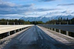 Bridge to Wrangell St. Elias Royalty Free Stock Images