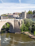 Bridge of Toledo Stock Photos