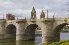 Bridge Toledo Madrid Rio Royalty Free Stock Images