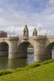 Bridge of Toledo over river Manzanares Royalty Free Stock Photography
