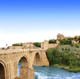 Bridge of Toledo, Spain Stock Photos