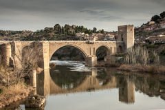 Bridge Toledo Royalty Free Stock Image