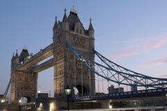 bridge tornet Royaltyfria Bilder