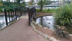 Bridge. Torquay Park 2014 Royalty Free Stock Photos