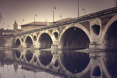Bridge in Toulouse Royalty Free Stock Image