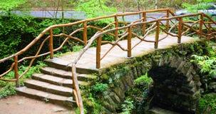 Bridge of the tourist royalty free stock photography