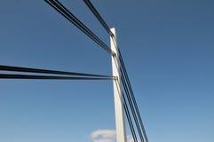 Bridge tower Royalty Free Stock Image