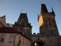 Bridge tower of the Charles Bridge (Prague, Czech Republic) Stock Image