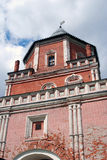 Bridge tower. The Estate Of The Romanovs In Izmailovo recreation park and manor, Moscow, Russia. Bridge tower Stock Photos