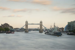 Bridge Tower from London Bridge Stock Photography