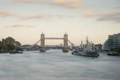 Bridge Tower from London Bridge Stock Photography