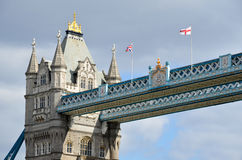 Bridge Tower of London stock photos