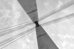 Bridge tower Stock Photo