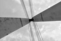 Bridge tower Stock Photography