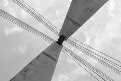 Bridge tower Royalty Free Stock Photos
