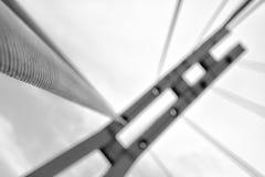 Bridge tower Royalty Free Stock Images