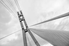 Bridge tower Stock Image