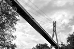 Bridge tower Stock Images