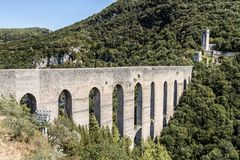 Bridge of the Towers, Spoleto Italy Royalty Free Stock Photography