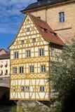 Bridge town hall in Bamberg, Bavaria Stock Photo