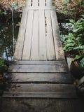 bridge tr? arkivbild