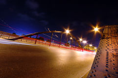 Bridge and traffic Stock Photography