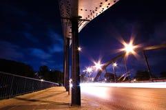 Bridge and traffic royalty free stock photos