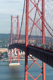 Bridge with traffic Stock Photos