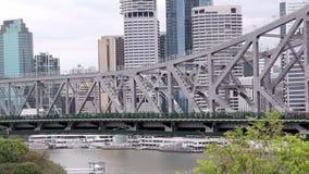 Bridge Traffic 1 stock video