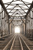 Bridge of train Royalty Free Stock Photography