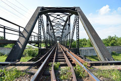Bridge of Train track Stock Photography