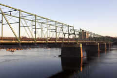 Bridge in Trenton Royalty Free Stock Image