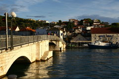 Bridge in Trogir town Royalty Free Stock Photo