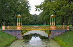 Bridge in Tsarskoye Selo Royalty Free Stock Image