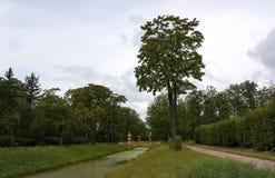 Bridge in Tsarskoye Selo Stock Images
