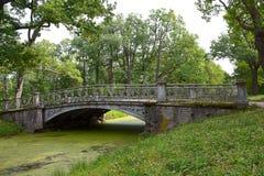 Bridge in Tsarskoye Selo Royalty Free Stock Photo