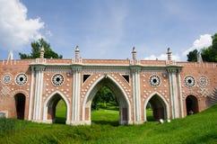 Bridge at Tsatitsino stock image