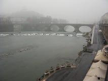 Bridge in Turin Royalty Free Stock Photo