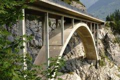 Bridge in the Tyrolean Alps Royalty Free Stock Photos