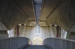 Bridge under bridge Royalty Free Stock Photography