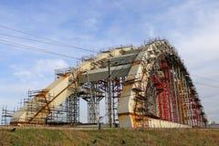 Bridge under construction Stock Photography