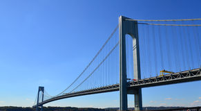 Bridge in the United States. Bridge and blue sky in the United States royalty free stock photography